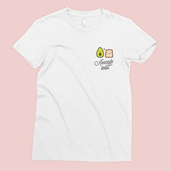 Avocado Toast Pocket T-Shirt SN01