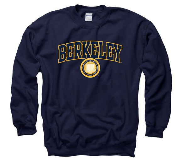 Berkeley Arch & Seal Crew Neck Sweatshirt SR01