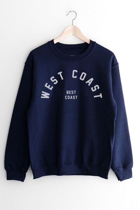 Best Coast Sweatshirt SR01