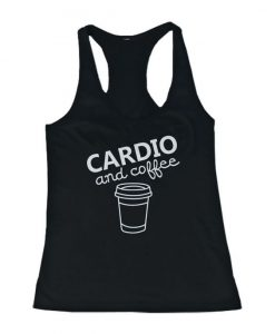 Cardio and coffee Tank Top SN01