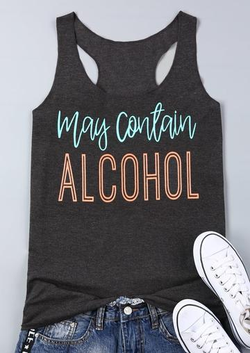 Contain Alcohol Tank Top GT01