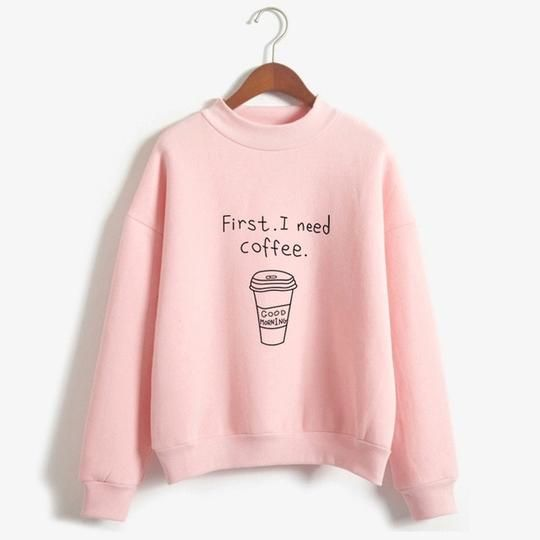 I Need Coffee Sweatshirt SN01