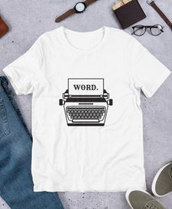 Word Typewriter T-Shirt SN01