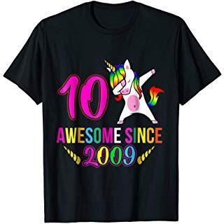 10th Birthday T-Shirt EL01