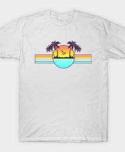 80s Sunset T-Shirt GT01