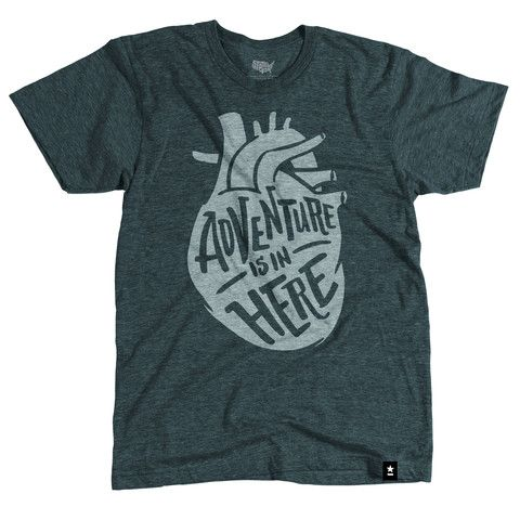 Adventure is in Here T-shirt DS01