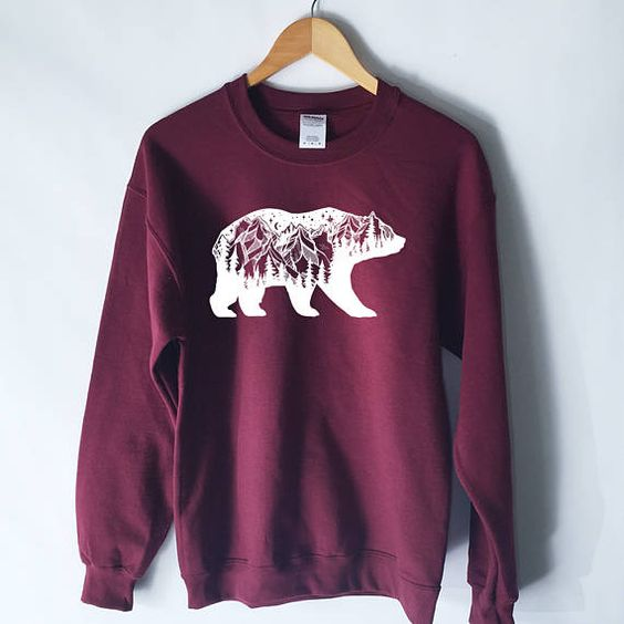 Bear Mountain Sweatshirt EL01