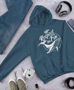 Respect the Fin Hoodie T Shirt SR01