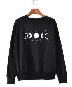Women Moon Sweatshirt EL01
