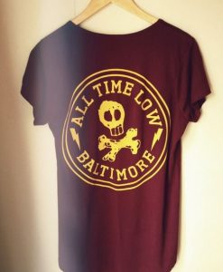 all time low shirt KH01