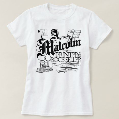 A Malcolm Printer T-Shirt AV01