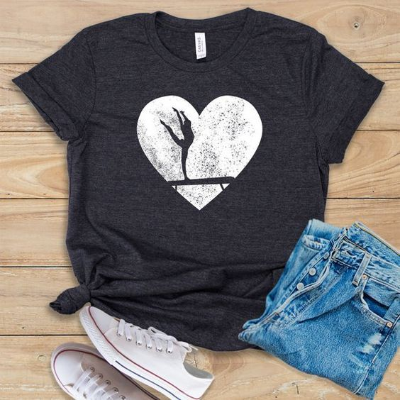 Acrobatics Heart T-Shirt SN01