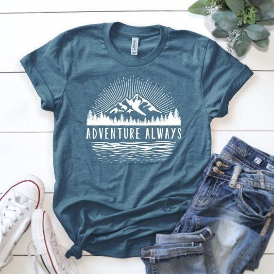 Adventure Always T-shirt FD01