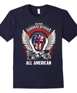 All The Way All American T Shirt DS01