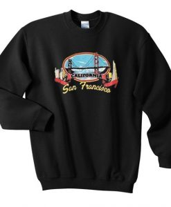 California San Francisco Sweatshirt EL01
