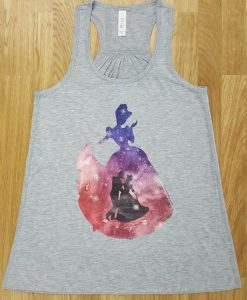 Cinderella Watercolor Tank Top EL01