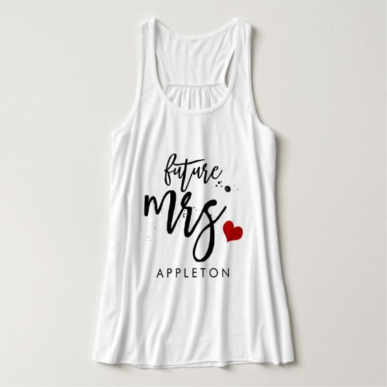 Future Mrs Tank Top EL01