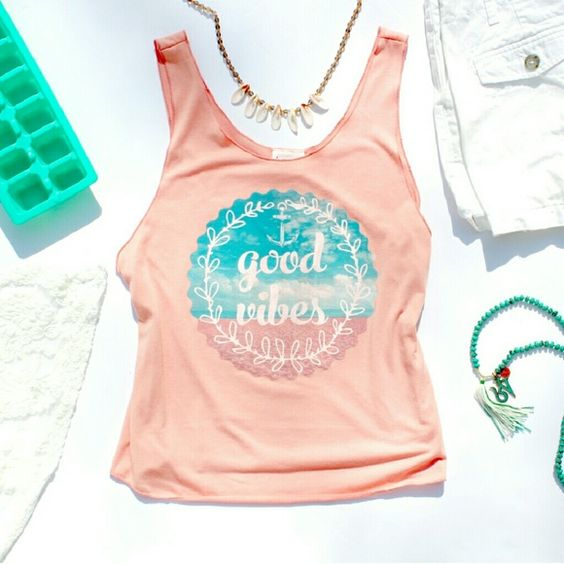 Good Vibes Tank Top EL01