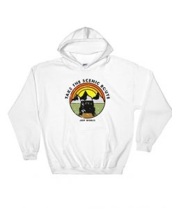 Take The Scenic Route Hoodie EL01
