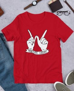 Whatever Forever Hand T-Shirt EL01
