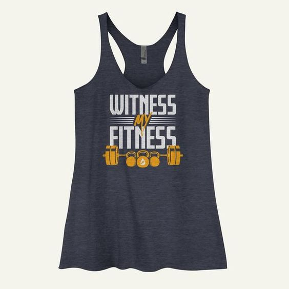 Witness My Fitness Tank Top EL01
