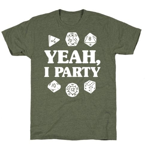 Yeah I Party T-Shirt FR01