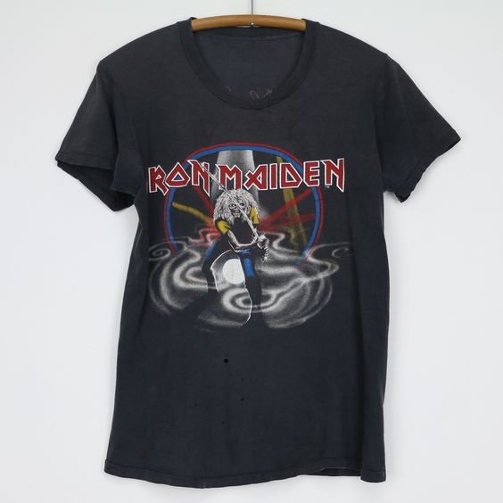 1981 Iron Maiden Japan Shirt FD31