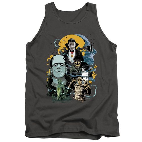 A Universal Monsters Tank Top AI01
