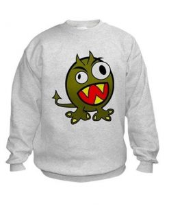 Angry Green Monster Sweatshirt AZ