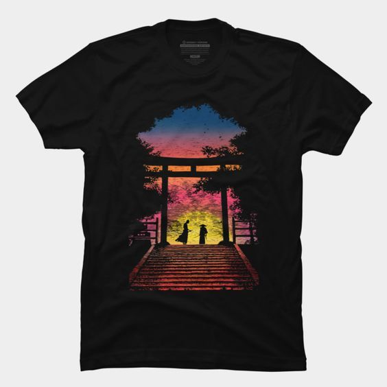 As the sun is rise T-shirt FD01
