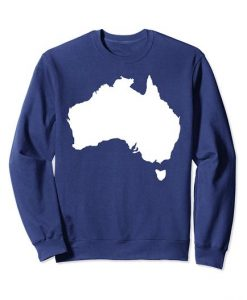 Australia map Sweatshirt SR01