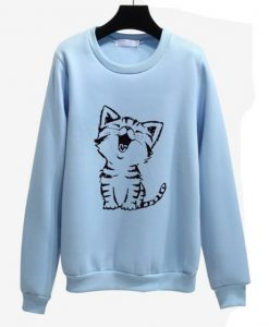 Baby Cat Cute Sweatshirt FD28