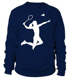 Badminton woman girl Sweatshirt AZ01