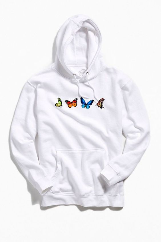 Butterfly Premium Hoodie AI01