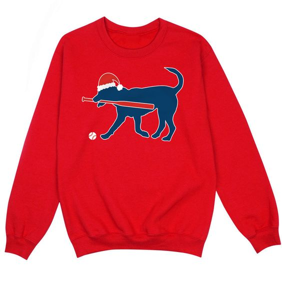 Christmas Dog Sweatshirt EL30
