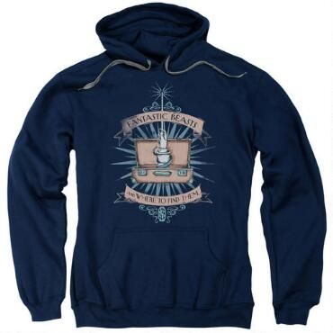 Fantastic Beasts And Where To Find Them Hoodie EL01