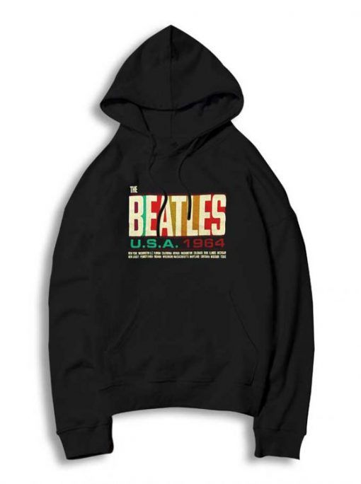 The Beatles USA Hoodie EL01