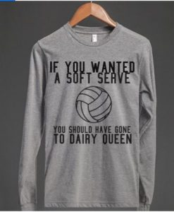 VOLLEYBALL if you Wanted Sweatshirt AZ01