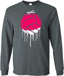 Volleyball Paint long Sweatshirt AZ01