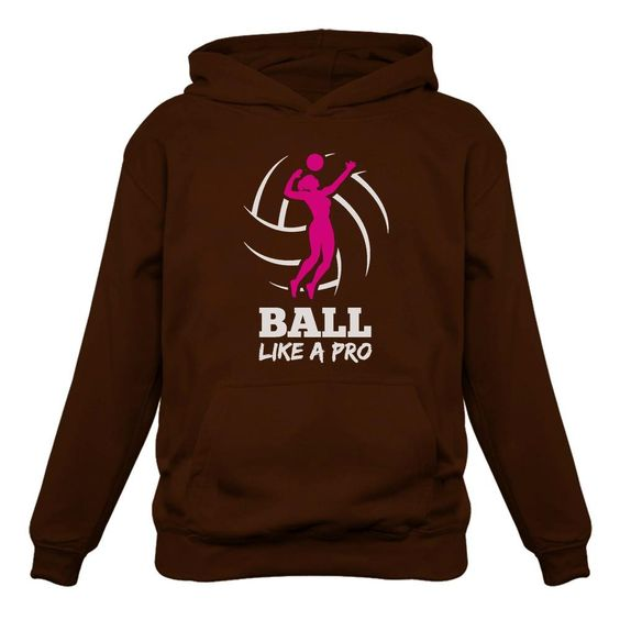 Volleyball Player Hoodie AZ01