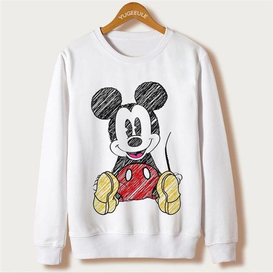 With Mouse T-shirt AI01