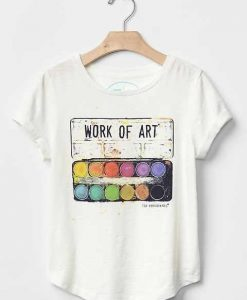 work of art T-shirt AI01