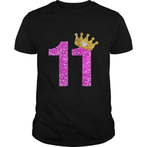 11th Birthday Girl T-Shirt DV1N