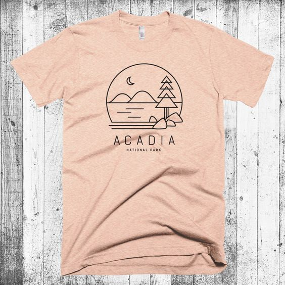 Acadia National Park T-Shirt EM1N