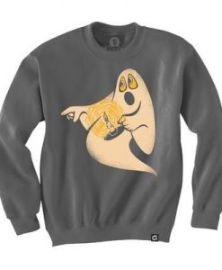 Candle Ghost Sweatshirt EL30N