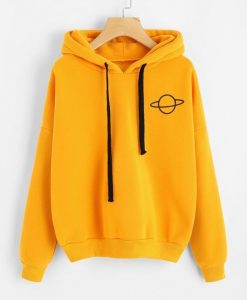 Planet Drop Shoulder Hoodie N27AZ