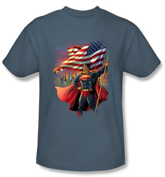 Superman Kids T-Shirt AZ4N