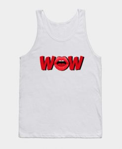 WOW Lips Tank Top SR29N