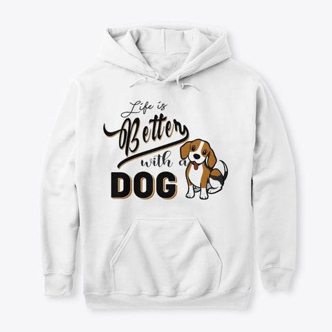 With A Dog Hoodie SR27N