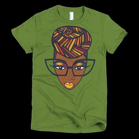 Women with sunglasses T-shirt N16FD